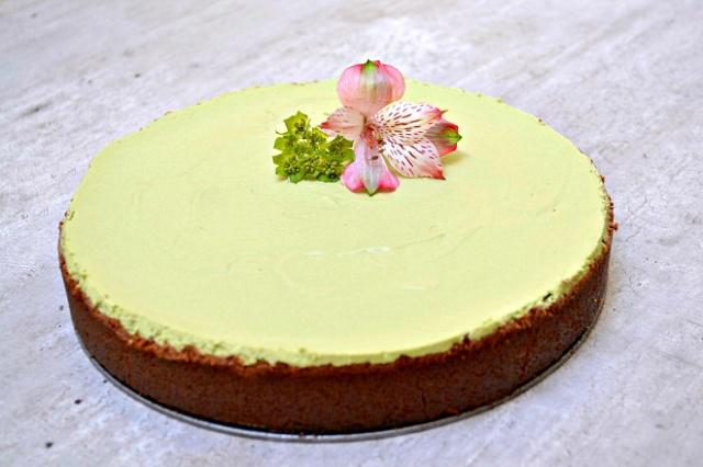 matcha cheesecake recept